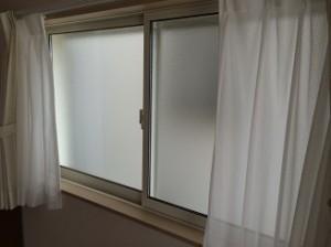 内窓プラスト設置