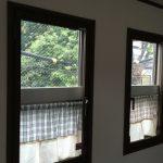 騒音対策に上げ下げ窓にまどまど開き窓取付け