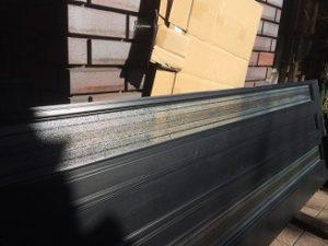 玄関ガラス交換