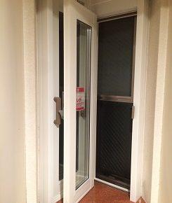内窓プラストのコーナー