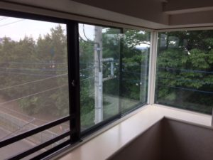 内窓コーナー方立
