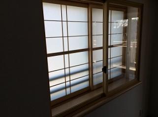 内窓設置完成