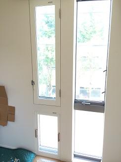 上下段窓に内窓プラスト