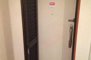 玄関網戸(折れ戸)