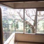 コーナー窓に内窓を設置