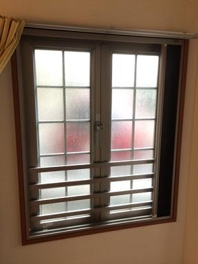 内窓プラスト増枠65設置前