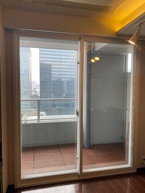 内窓プラストHT型設置