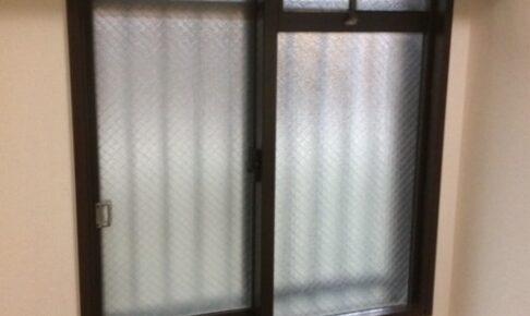 二重窓ふかし枠設置前