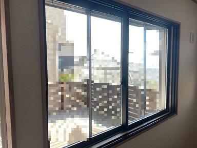 インプラスブラインドイン複層ガラス枠取付