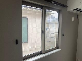 内窓プラスト増枠25設置前