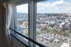 手摺がある窓に内窓を設置する方法