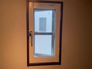 内窓プラスト開き窓