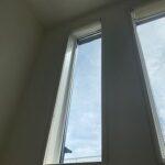 吹き抜け内窓設置前