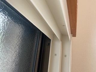カーテンボックス造作で内窓
